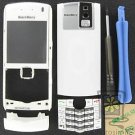 No-Logo UnBrand Universal OEM RIM BlackBerry 8100 Pearl White Housing