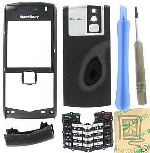 No-Logo UnBrand Universal OEM RIM BlackBerry 8100 Pearl Black Housing