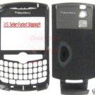 Black AT&T Blackberry Curve 8300 8310 8320 Full Housing Case