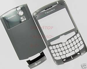 AT&T BlackBerry Curve 8300 8310 8320 OEM Housing Case Titanium