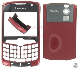 No-Logo OEM RIM BlackBerry 8300 8310 8320 Curve Housing Burgundy Red