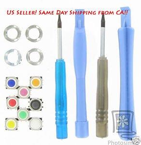 RIM Blackberry OEM Color Trackball+Tool Kit For Pearl 8100 8110 8120 8130