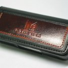 Leather Pouch Case Blackberry Pearl 8130 8120 8110 8100