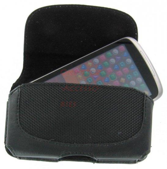 Leather Case Pouch Belt Loops+Clip Google HTC Nexus One