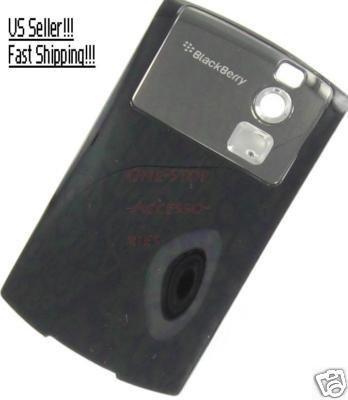 RIM Blackberry Curve 8350i OEM Black Battery Door Cover