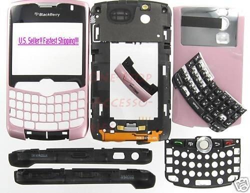Pink Original BlackBerry 8330 Curve Complete Housing US Seller