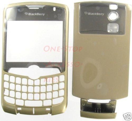 Gold No Logo CDMA RIM Blackberry Curve 8330 Housing Case