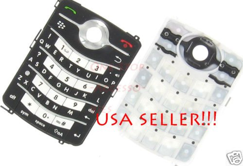 Genuine Blackberry Pearl Flip 8220 Key Pad Keyboard New