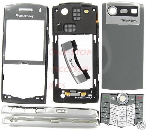 ATT Genuine BlackBerry 8110 8120 Pearl OEM Housing Case