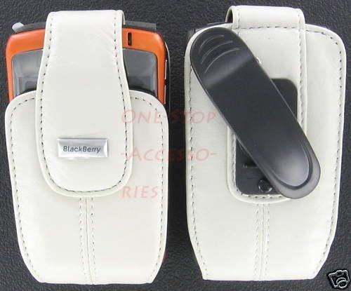 Original OEM RIM Blackberry Leather Case Pouch 4 Curve 8320 8330