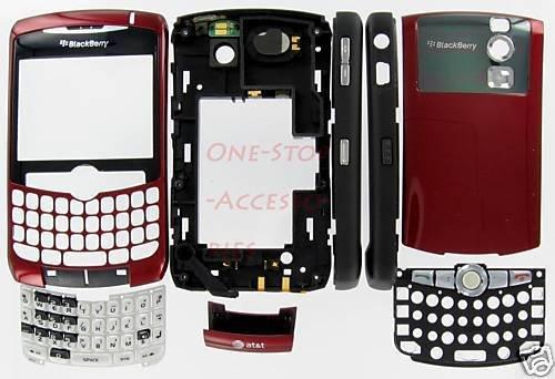 OEM AT&T BlackBerry 8300 8310 8320 Curve Full Housing
