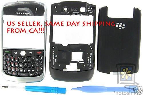 Genuine BlackBerry Javelin Curve 8900 Full Housing Case