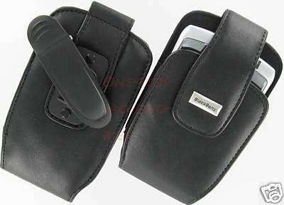 Genuine Blackberry Leather Case Pouch Nextel Curve 8350i