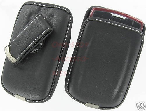 Leather Case Pouch Blackberry Curve 8520 AT&T T-Mobile