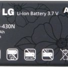 GENUINE NEW LG SLIDER LN240 LX290 LGIP-430N OEM BATTERY