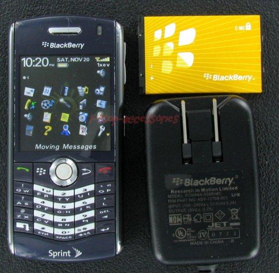 USED Sprint RIM Blackberry Pearl 8130 CDMA Mobile Phone