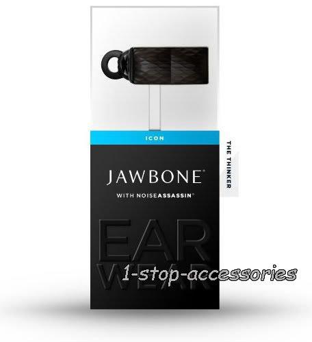NEW Black Aliph Jawbone Icon The Thinker Bluetooth Headset