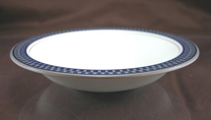 Mikasa Aztec Blue Rim Soup Bowl