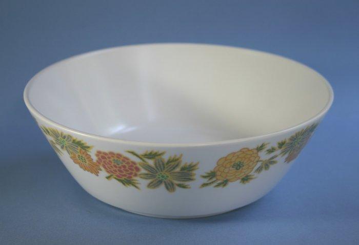 "Vintage Noritake Progression SUNNY SIDE 9003 Round Vegetable Bowl 8"""