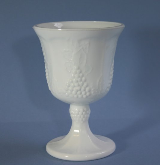 Colony Glass Harvest Milk Water Goblet