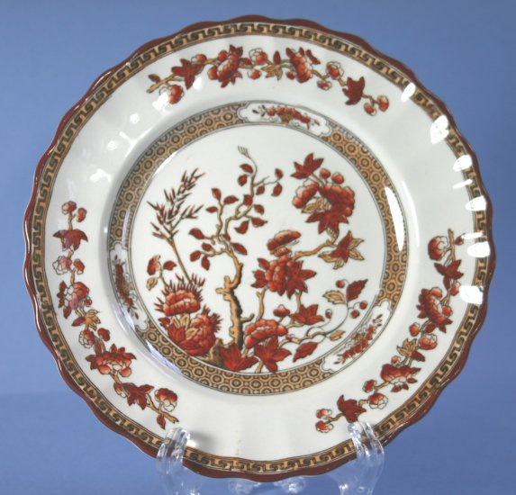 """Copeland Spode INDIA TREE 2959 Orange Rust 6"""" Bread and Butter Plate"""