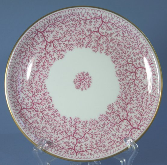 "Furstenberg PARK LANE PINK (SMOOTH) 6"" Bread and Butter Plates"