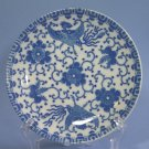 """Japan blue & white Phoenix Bird/Flying Turkey/Howo 6"""" Bread and Butter Plates"""
