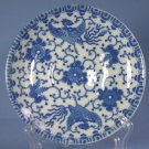 Japan blue & white Phoenix Bird/Flying Turkey/Howo Saucers only