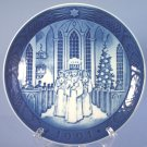 Royal Copenhagen 1991 Christmas Plate - The Festival Of Santa Lucia