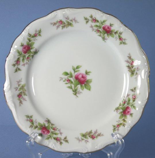 Johann Haviland (Bavaria) Moss Rose Bread and Butter Plate