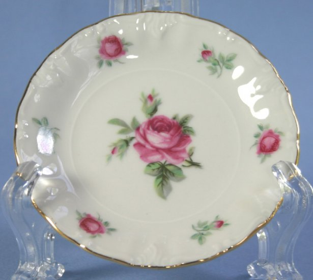 Treasure Chest China (Winterling, Bavaria) First Love Butter Pat Dish