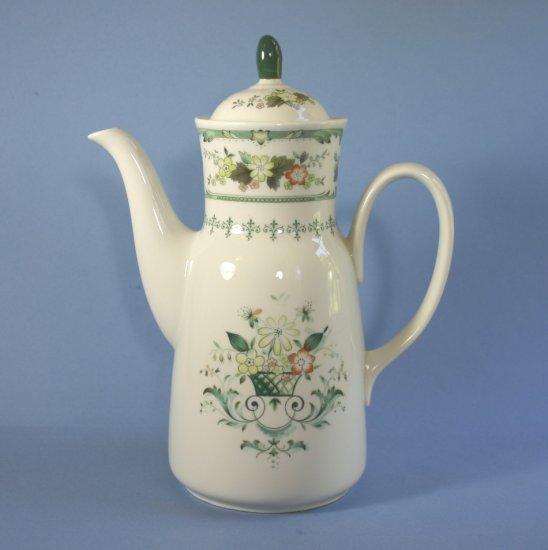 Royal Doulton Provencal Coffee Pot & Lid
