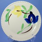 "SPI - Southern Potteries - Blue Ridge Hand Painted #3988 CARNIVAL 6"" Bread and Butter Plates"