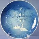 Bing & Grondahl 1974 Christmas Plate Christmas In The Village