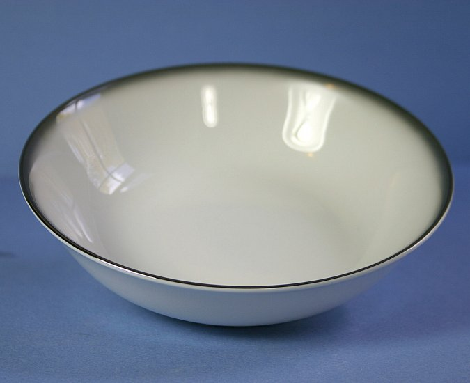 "Sango 6175 Grey Mist 7"" Coupe Soup Bowl"