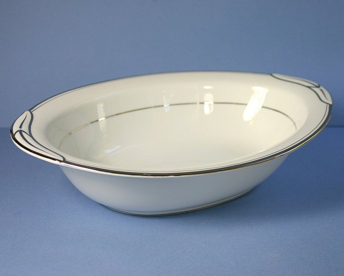 Noritake Silverton Oval Vegetable Bowl