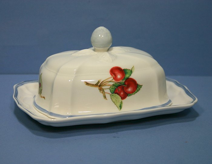 Villeroy & Boch COTTAGE (ROUND SHAPE) Rectangular Covered Butter Dish