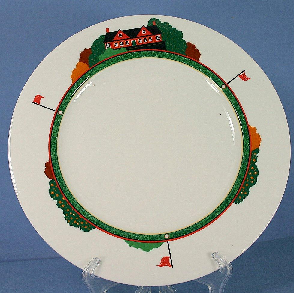 Christopher Stuart Fairway Chop Plate/Round Platter - 12 in