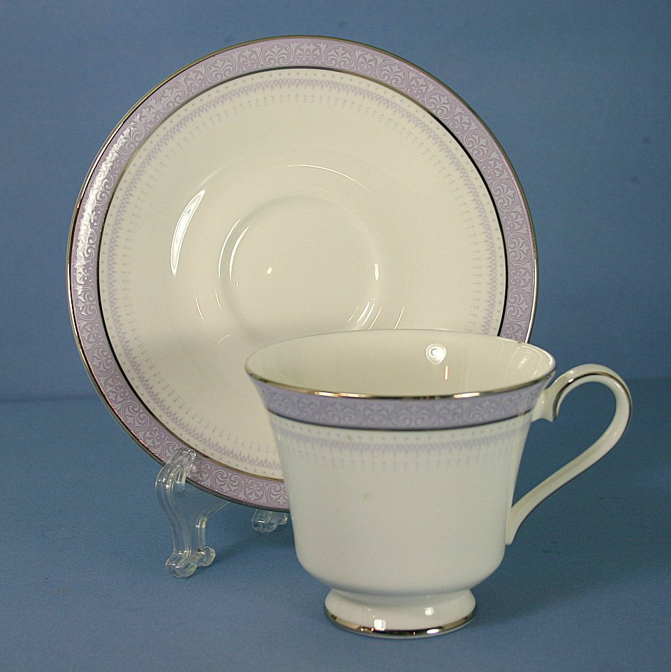 Royal Doulton Lilactime Footed Cup & Saucer Set