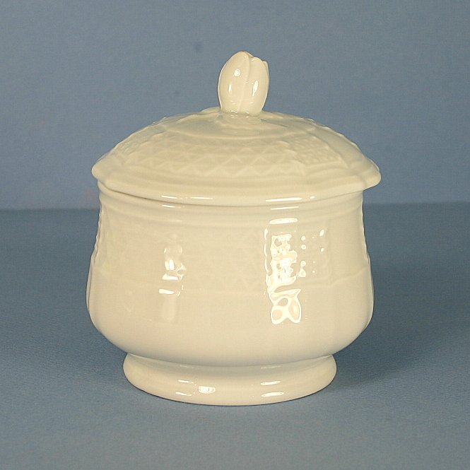 Heinrich & Co Chateau Weiss Sugar Bowl and Lid