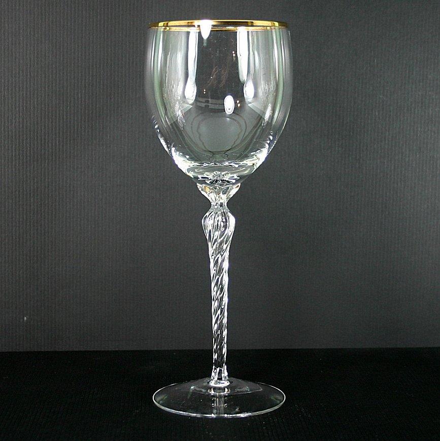 Lenox Crystal Monroe (Gold Trim) Water Goblet