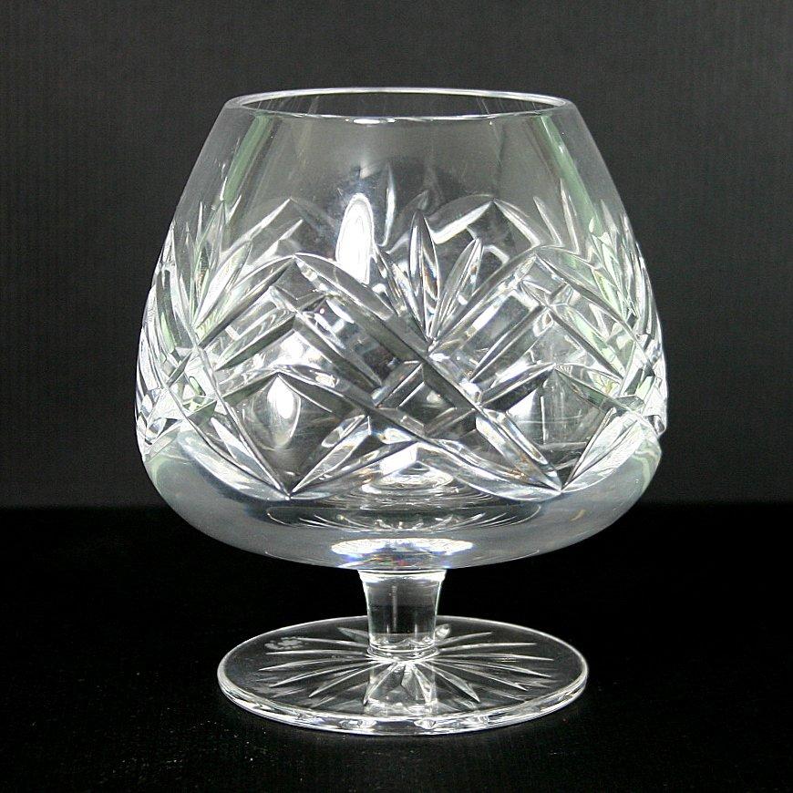 Cavan crystal sheelin brandy glass for Cava cristal