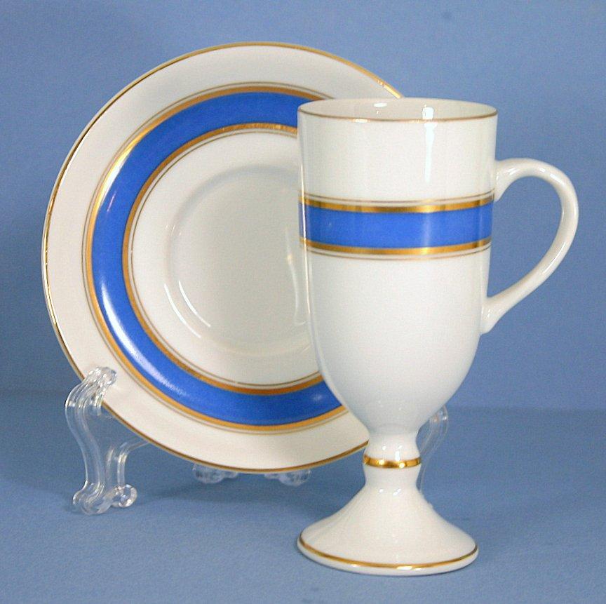 Fitz & Floyd Irish Coffee Cup and Saucer Set