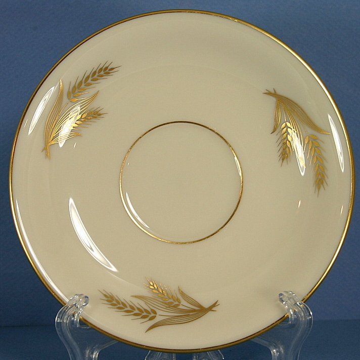 Lenox Harvest Footed Cup Saucer