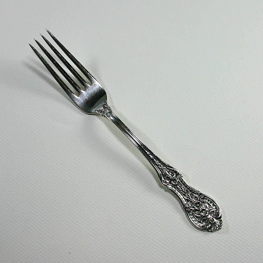 International Silver Springtime Sterling Regular Dinner Fork