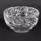 Tiffany & CO Crystal Dolphin 8 inch Round Bowl