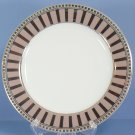 Bernardaud Athena Platinum Accent Salad Plate - Strip Border
