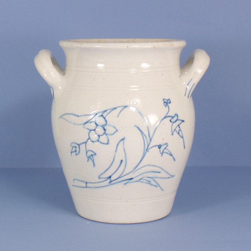 Rorstrand A-Model Blue & White Pot #3