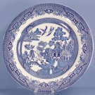 Churchill Willow Blue (Georgian Shape) Dinner Plate