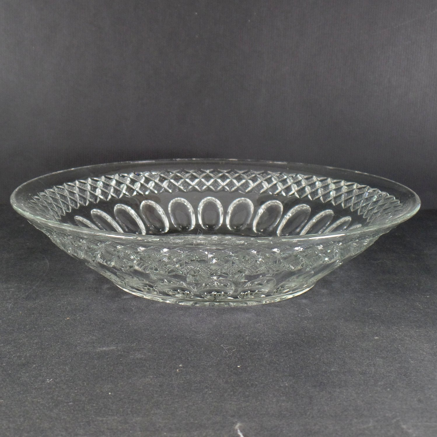 Westmoreland Waterford Clear 11 Inch Round Bowl